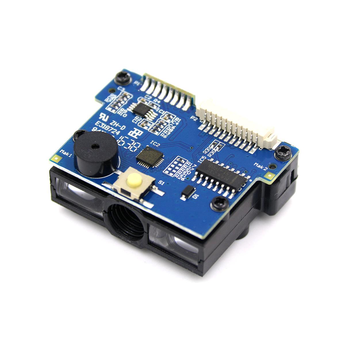 VM1200 一维红光扫描模块 直连单片机CCD条形码扫码模组