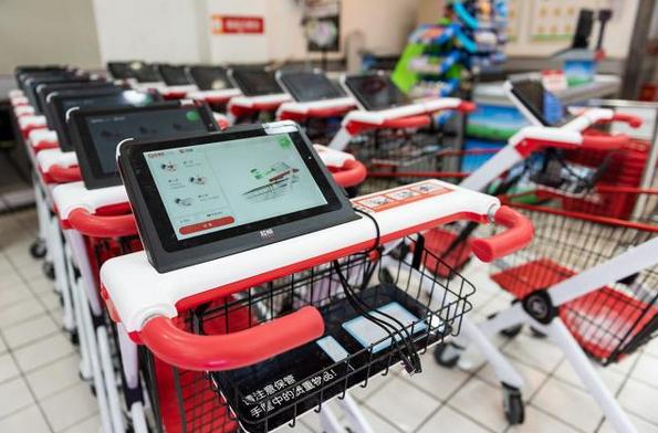 自助购物车条码解决方案